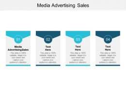 Media Advertising Sales Ppt Powerpoint Presentation Gallery Infographics Cpb