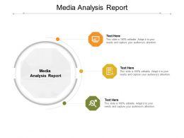 Media Analysis Report Ppt Powerpoint Presentation File Slide Portrait Cpb