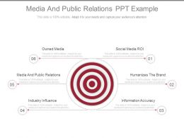 Media And Public Relations Ppt Example