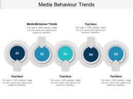 Media Behaviour Trends Ppt Powerpoint Presentation Infographic Template Gallery Cpb