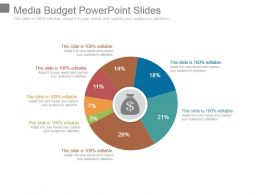 Media Budget Powerpoint Slides
