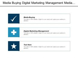 Media Buying Digital Marketing Management Media Planning Marketing Management Cpb