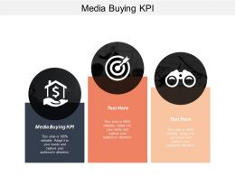 Media Buying Kpi Ppt Powerpoint Presentation File Example Cpb