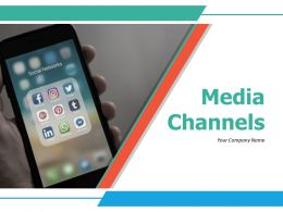 Media Channels Powerpoint Presentation Slides