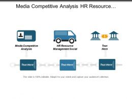 Media Competitive Analysis Hr Resource Management Social Networking Cpb