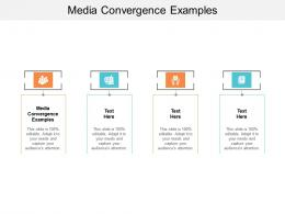 Media Convergence Examples Ppt Powerpoint Presentation Inspiration Summary Cpb