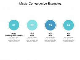 Media Convergence Examples Ppt Powerpoint Presentation Professional Skills Cpb