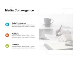 Media Convergence Ppt Powerpoint Presentation Pictures Smartart Cpb