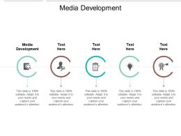Media Development Ppt Powerpoint Presentation File Infographic Template Cpb