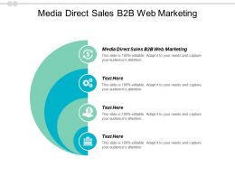 Media Direct Sales B2b Web Marketing Ppt Powerpoint Presentation Good Cpb