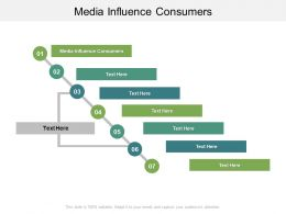 Media Influence Consumers Ppt Powerpoint Presentation Layouts Demonstration Cpb