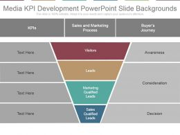 Media Kpi Development Powerpoint Slide Backgrounds