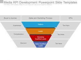 Media Kpi Development Powerpoint Slide Templates