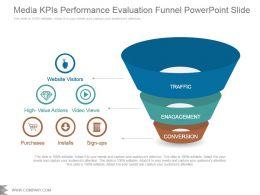 media_kpis_performance_evaluation_funnel_powerpoint_slide_Slide01