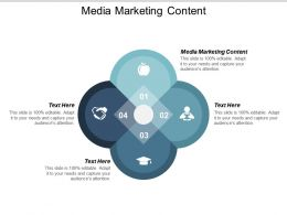 Media Marketing Content Ppt Powerpoint Presentation Professional Deck Cpb
