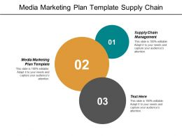 Media Marketing Plan Template Supply Chain Management Marketing Challenge Cpb