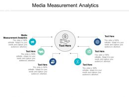 Media Measurement Analytics Ppt Powerpoint Presentation Summary Graphics Design Cpb