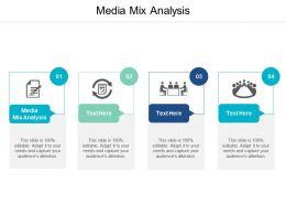 Media Mix Analysis Ppt Powerpoint Presentation Icon Slides Cpb