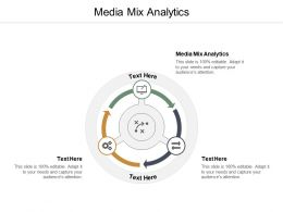 Media Mix Analytics Ppt Powerpoint Presentation Summary Graphic Images Cpb