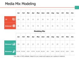 Media Mix Modeling Ppt Portfolio Structure