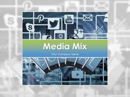 Media Mix Powerpoint Presentation Slides