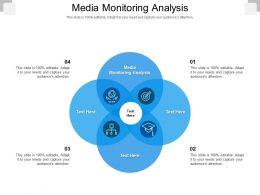 Media Monitoring Analysis Ppt Powerpoint Presentation Outline Slide Cpb