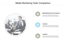 Media Monitoring Tools Comparison Ppt Powerpoint Presentation Styles Guidelines Cpb