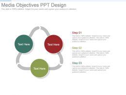 Media Objectives Ppt Design