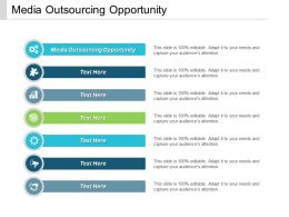 Media Outsourcing Opportunity Ppt Powerpoint Presentation Icon Templates Cpb