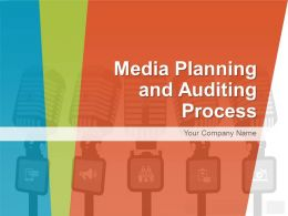 Media Planning And Auditing Process PowerPoint Presentation With Slides