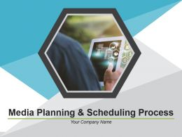 Media Planning And Scheduling Process Powerpoint Presentation Slides