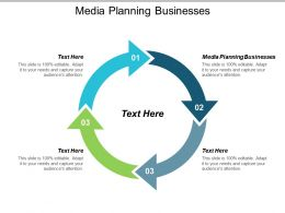 Media Planning Businesses Ppt Powerpoint Presentation Professional Diagrams Cpb