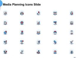 Media Planning Icons Slide L1127 Ppt Powerpoint Presentation Pictures