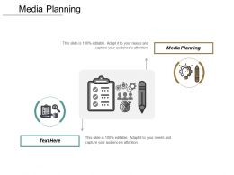 Media Planning Ppt Powerpoint Presentation Pictures Guide Cpb