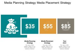 Media Planning Strategy Media Placement Strategy Sustainable Strategies Cpb