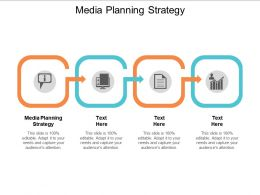 Media Planning Strategy Ppt Powerpoint Presentation File Shapes Cpb