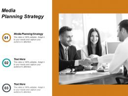 Media Planning Strategy Ppt Powerpoint Presentation Infographic Template Format Ideas Cpb