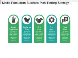 Media Production Business Plan Trading Strategy Business Management Cpb