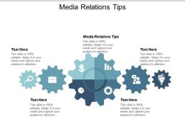 Media Relations Tips Ppt Powerpoint Presentation Professional Example Cpb