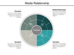 Media Relationship Ppt Powerpoint Presentation Model Images Cpb