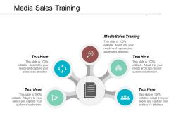 Media Sales Training Ppt Powerpoint Presentation Gallery Portfolio Cpb