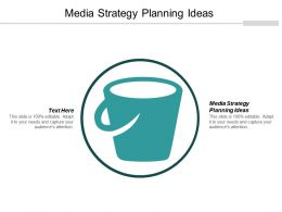 Media Strategy Planning Ideas Ppt Powerpoint Presentation Summary Example File Cpb