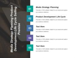 Media Strategy Planning Product Development Life Cycle Selling Premise