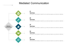 Mediated Communication Ppt Powerpoint Presentation File Smartart Cpb