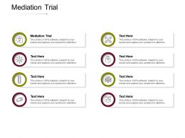 Mediation Trial Ppt Powerpoint Presentation Styles Background Designs Cpb