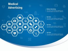 Medical Advertising Ppt Powerpoint Presentation Icon Slides