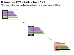 Medical Apps On Mobile For Health Care Professional Flat Powerpoint Design
