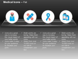 Medical Assistant Bandage Aids Symbol Medicine Ppt Icons Graphics
