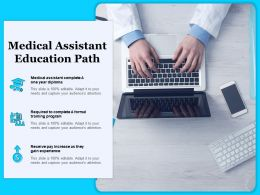 Medical Assistant Education Path