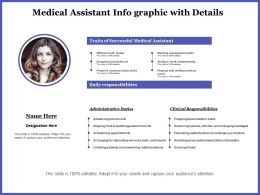 Medical Assistant Info Graphic With Details